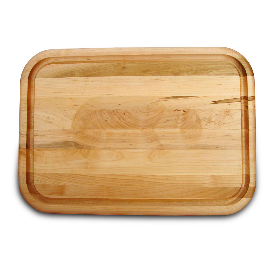 Catskill Wedged Carving Board with Juice Groove & Trench mpn 1314