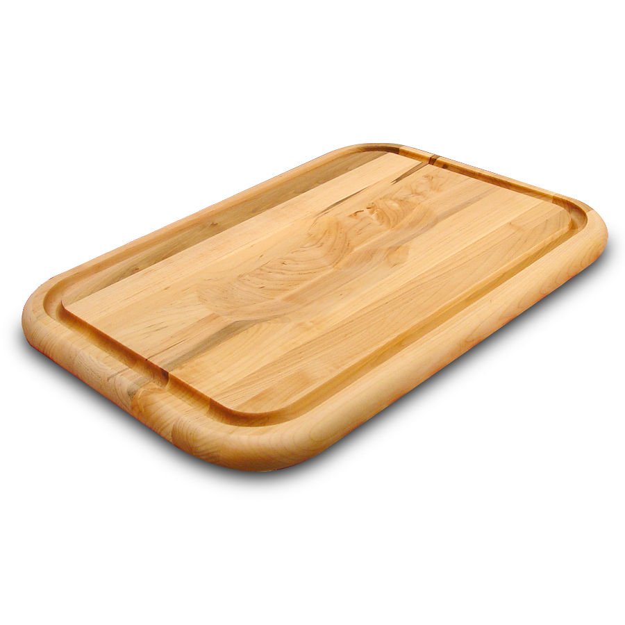 Catskill Meat-Holding Carving Board with Wedge, Juice Groove & Trench