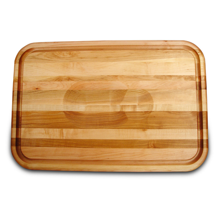 Catskill Meat-Holding Cutting Board with Wedge & Juice Groove
