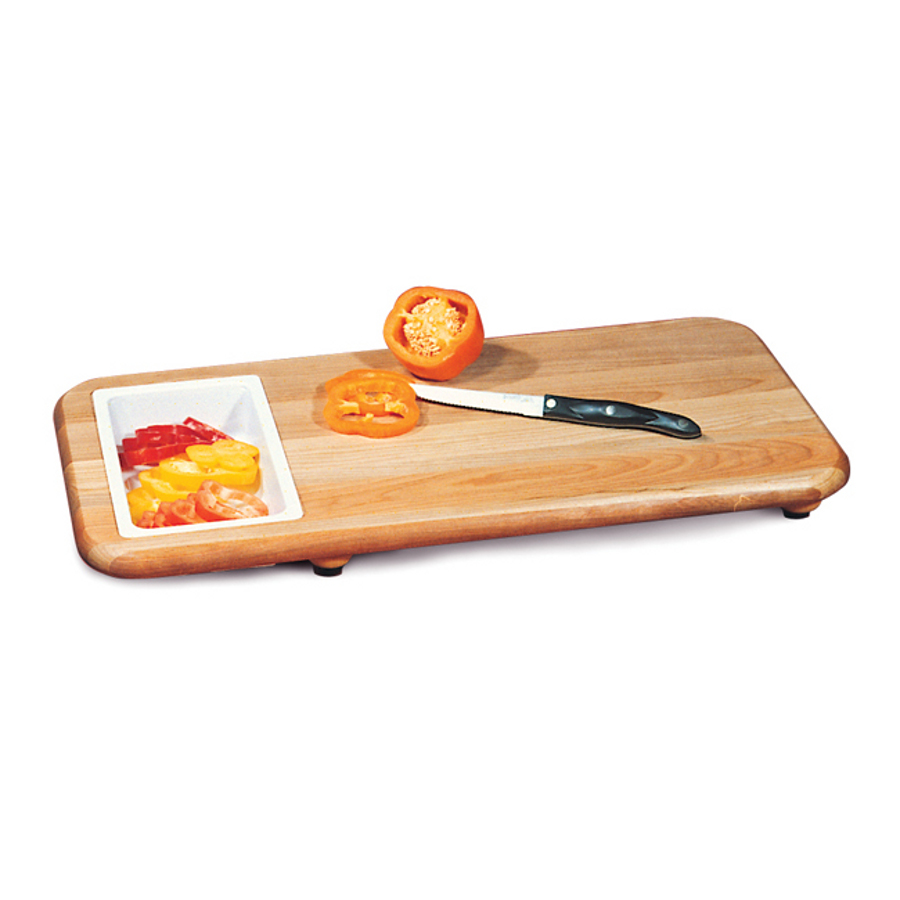 Catskill Cut 'N Catch Cutting Board with Removable Trays