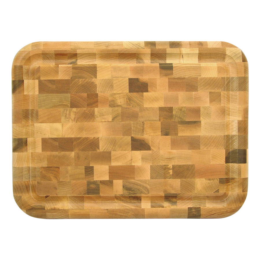 Catskill Reversible, End-Grain Carving Board - 16x12 w/ Juice Groove