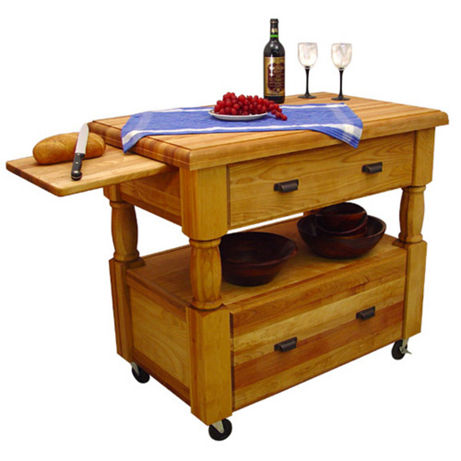 Catskill Europa Portable Kitchen Island Cart Model 1429