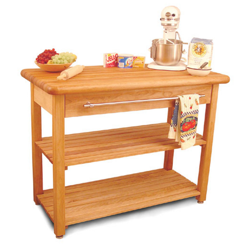 Butcher Block Harvest Table Model 1448 by Catskill Craftsmen