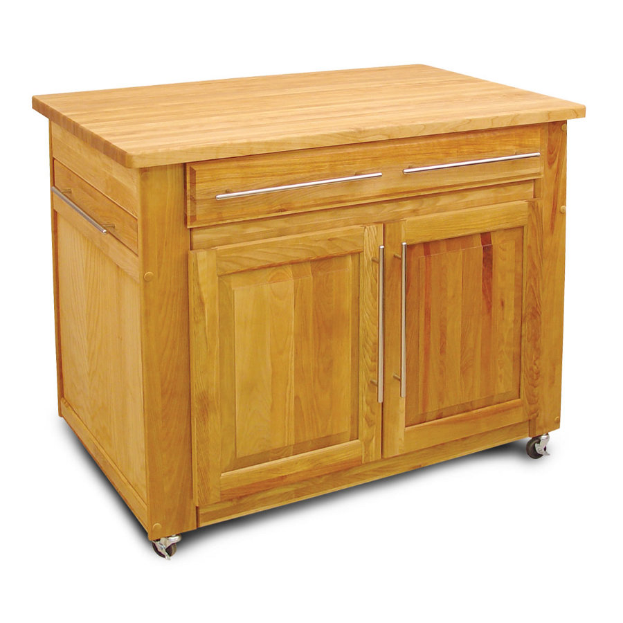 Catskill Empire Workcenter Portable Island Model 1480 with Butcher Block Top