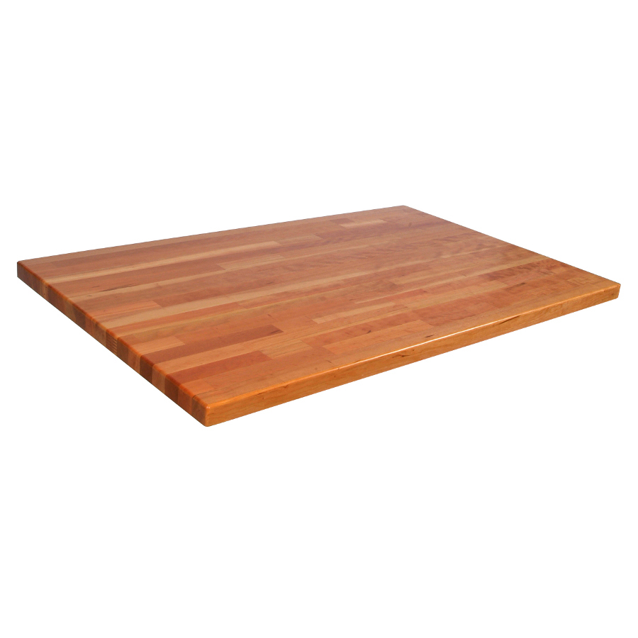 38 in. wide blended cherry counter 1.5 inches thick