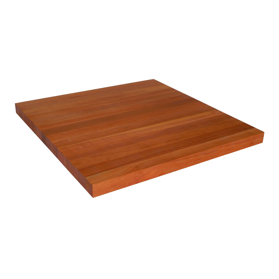 cherry counter 30 inches wide, 1.5-in. thick edge grain