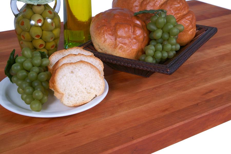 42 inch wide cherry counter, 1.5 inch edge grain