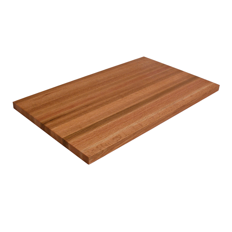 32 in. wide oak edge-grain countertop, 1.5 in. thick