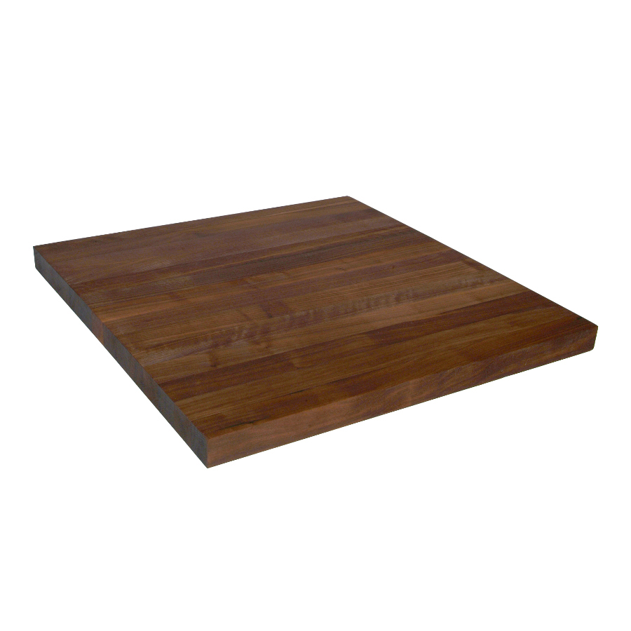 Edge-grain walnut countertop 1.5 inches thick