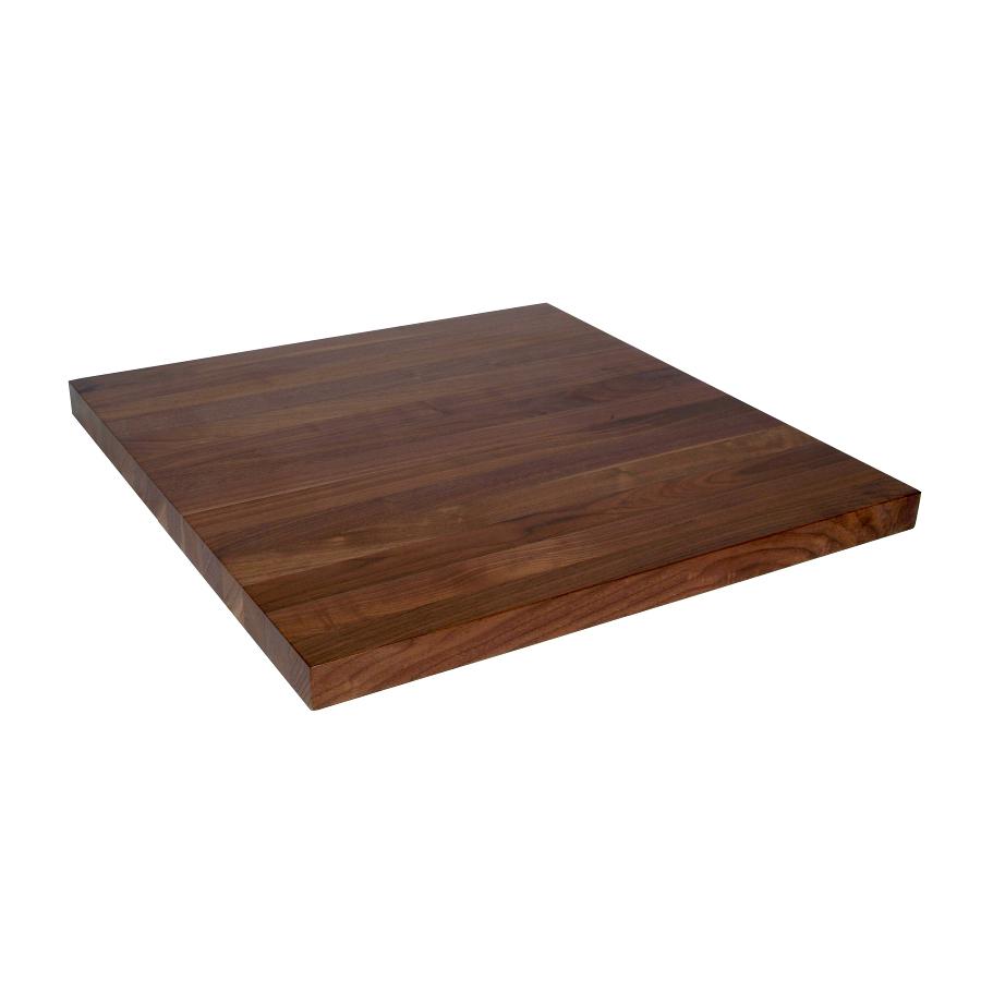 27 inch wide walnut counterop