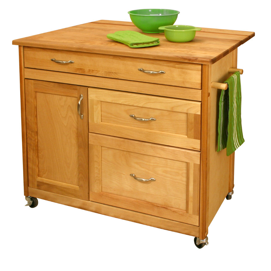 Drop-Leaf Kitchen Islands | Island with Drop Leaf
