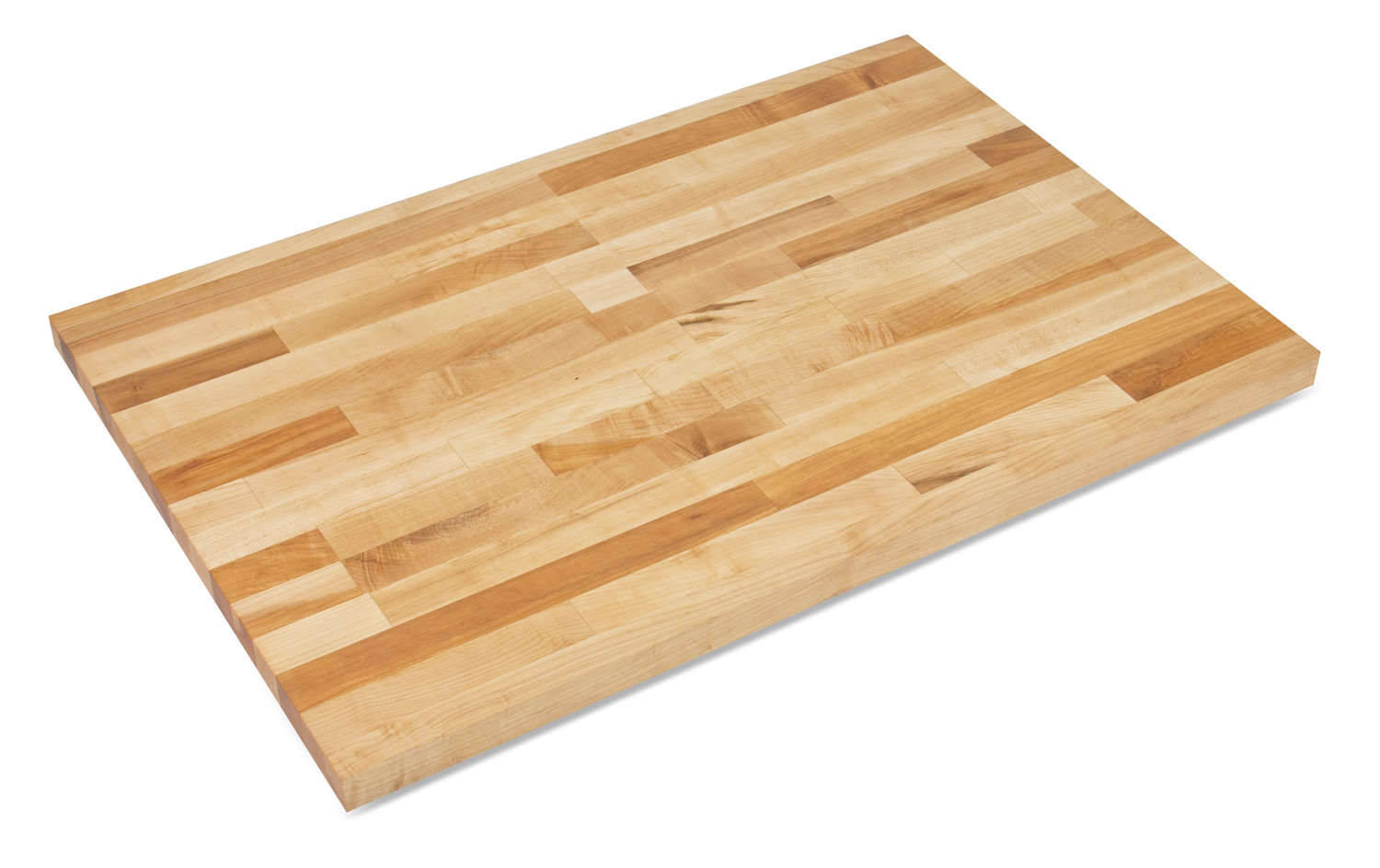 1-3/4 inch thick commercial maple butcher block counters 30 inches wide