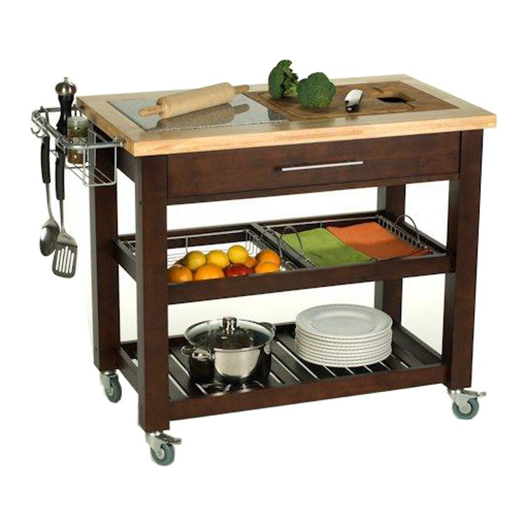 Kitchen Island 60 Inches movable kitchen islands | rolling on wheels | mobile