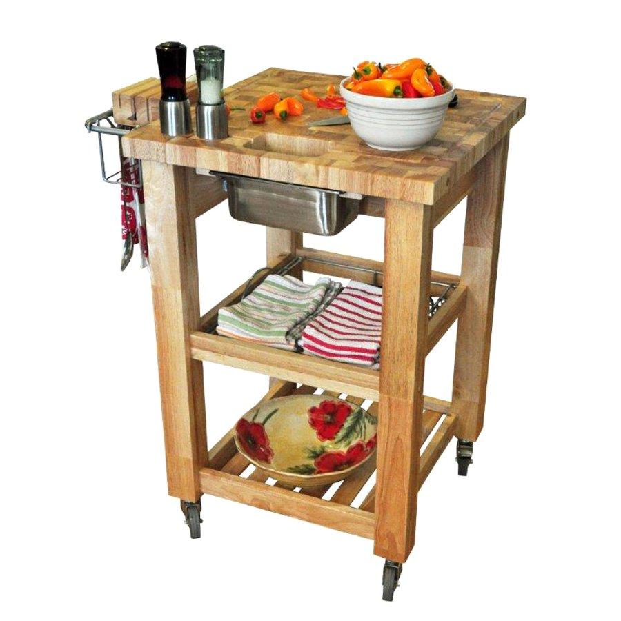Chris & Chris Pro Chef Work Station - Compact Edition, Natural Base