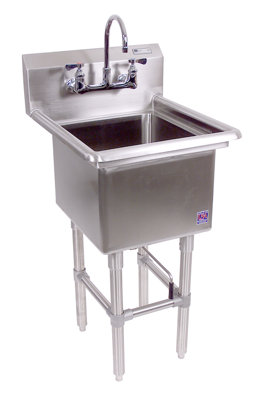 John Boos NSF Pro Bowl Compartment Sink - 1 Bowl, No Drainboard