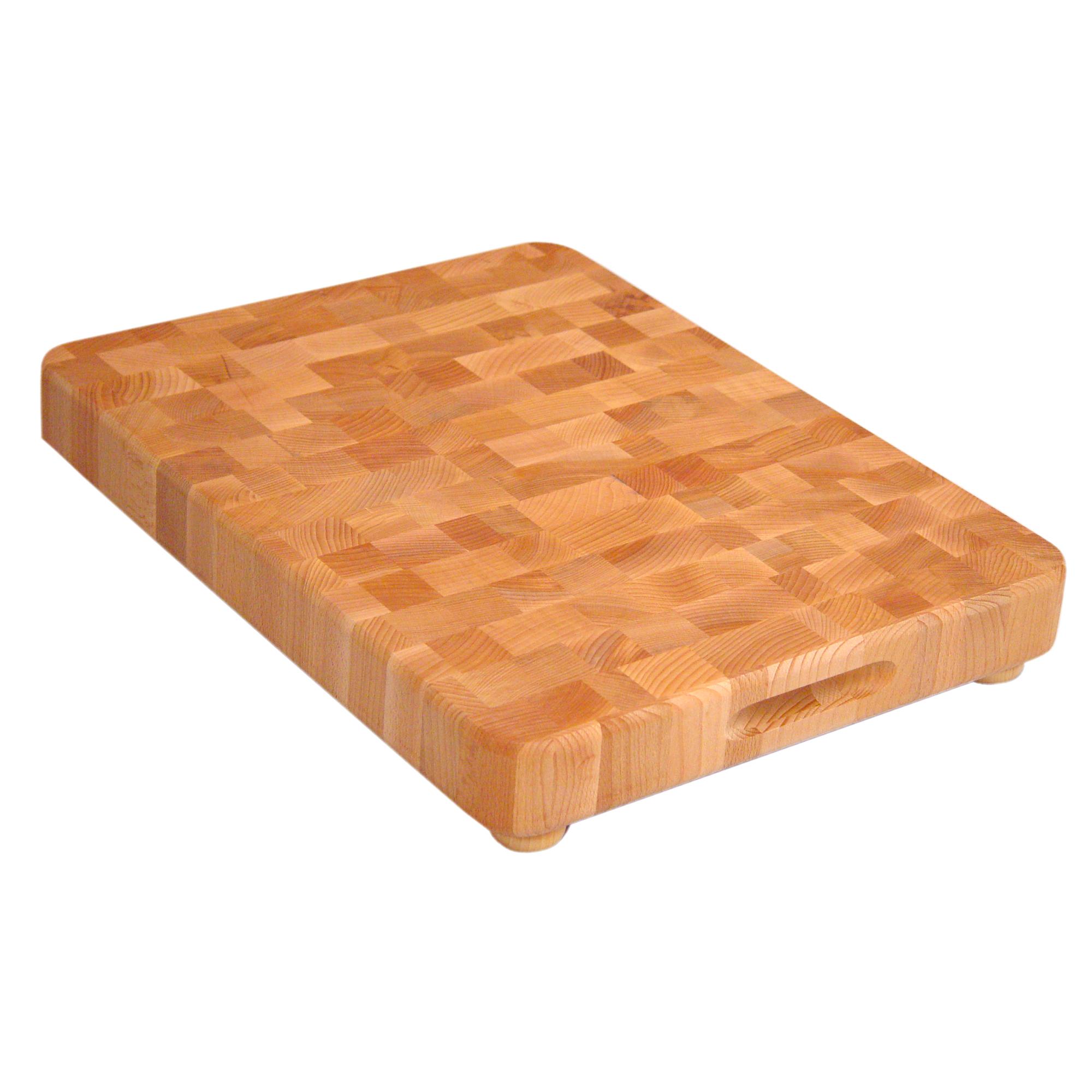 Catskill End-Grain Chopping Block with Feet - 17