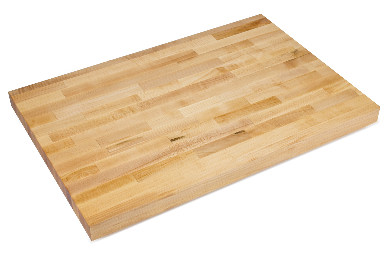 2-1/4 inch thick commercial maple wooden counters John Boos 30 inches wide