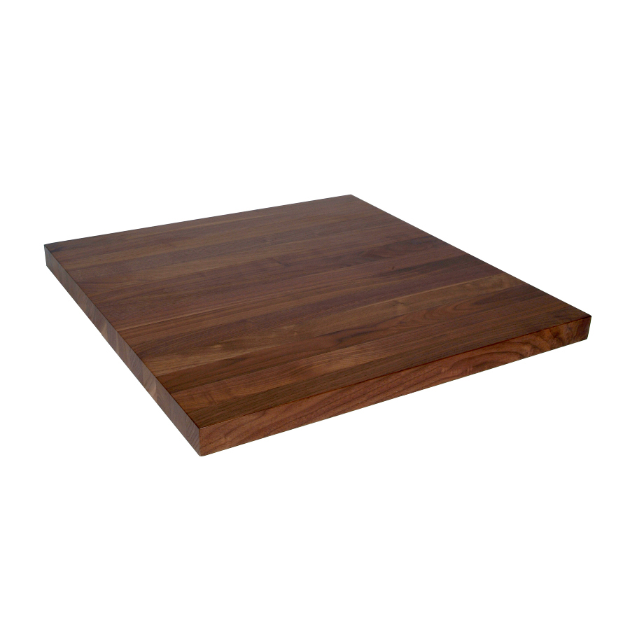 27 inch wide walnut counter, 2 inches thick
