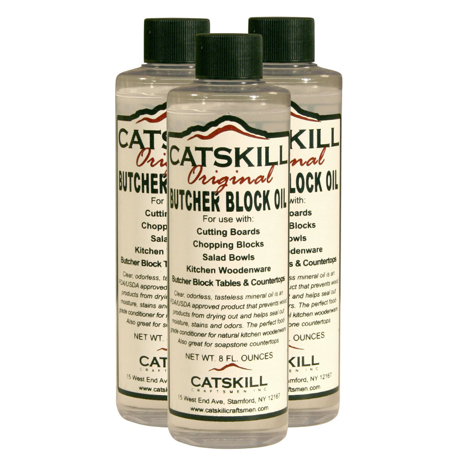 Catskill's Original Butcher Block Oil - 3-Pack of 8 oz. Bottles