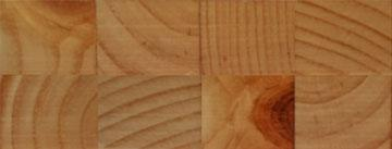 Knotty Pine End