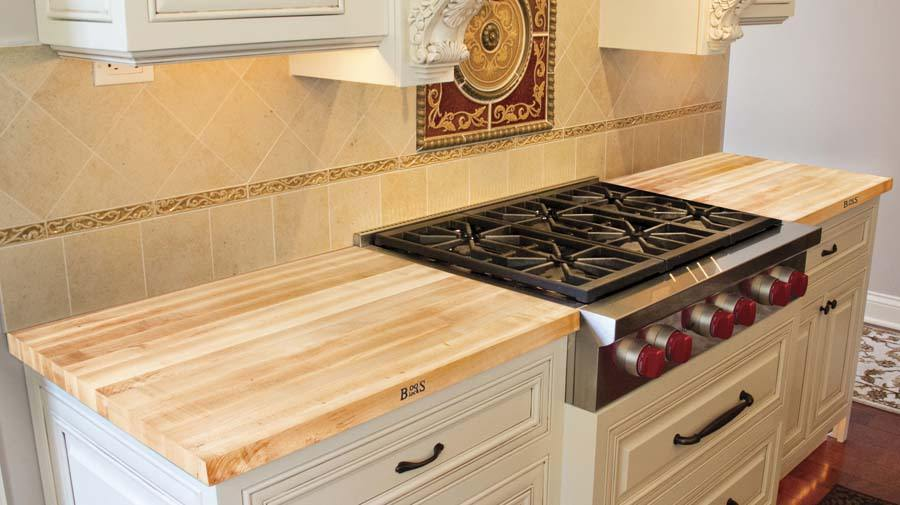 Boos maple counter tops