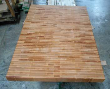 beech end-grain butcher block