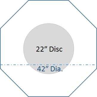 blended octagon discs