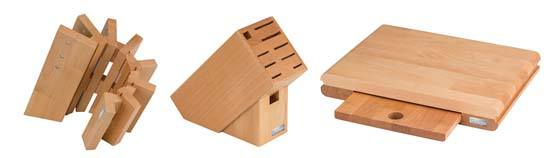 Knife Blocks & Cutting Boards made by Artisans