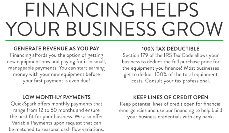 financing grows your business