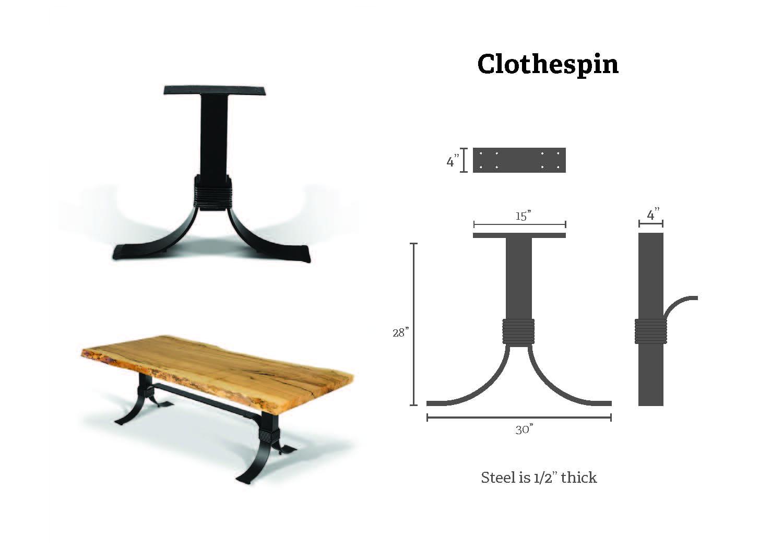 Clothespin specs