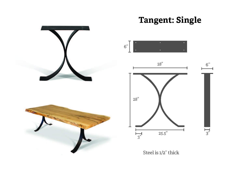 tangent single specs