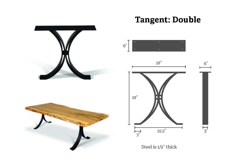 tangent double specs