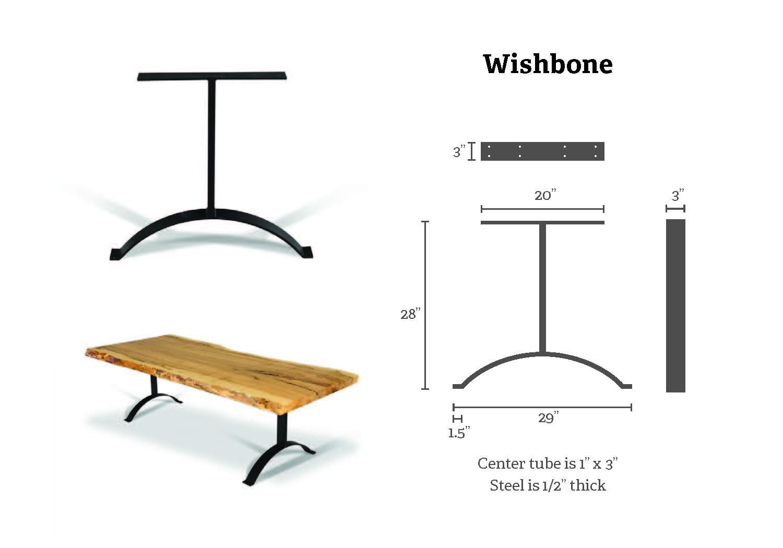 wishbone specs
