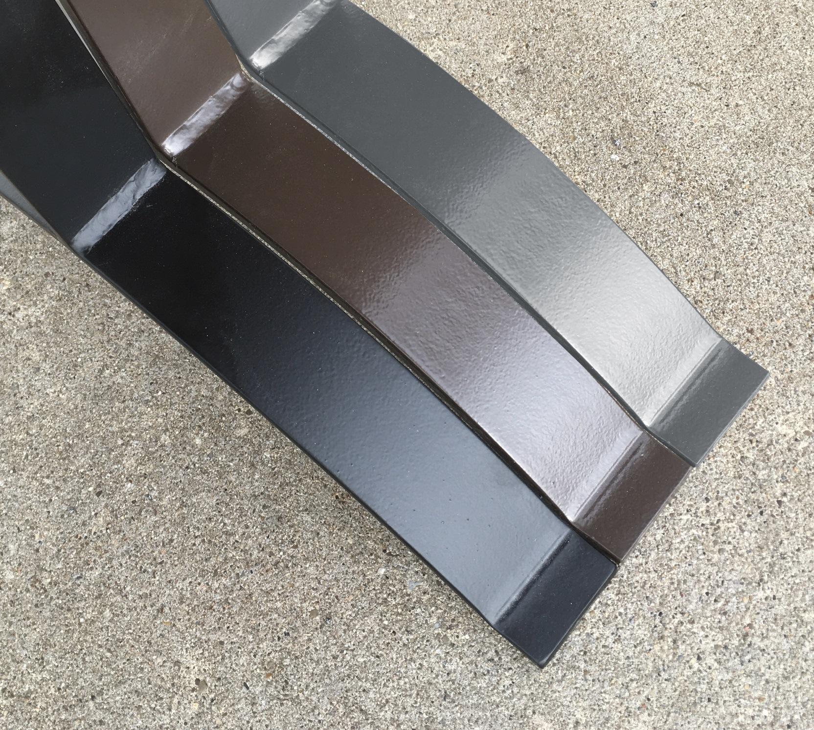 metal table base color options