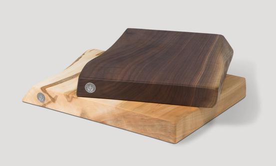 natural edge wood cutting boards