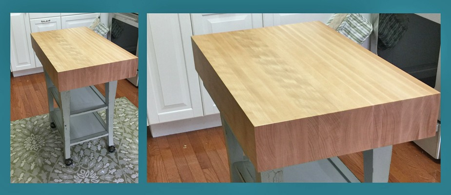 beech butcher block top