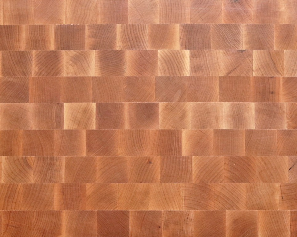 End-Grain Maple Countertops