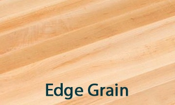 restaurant dining tops edge-grain