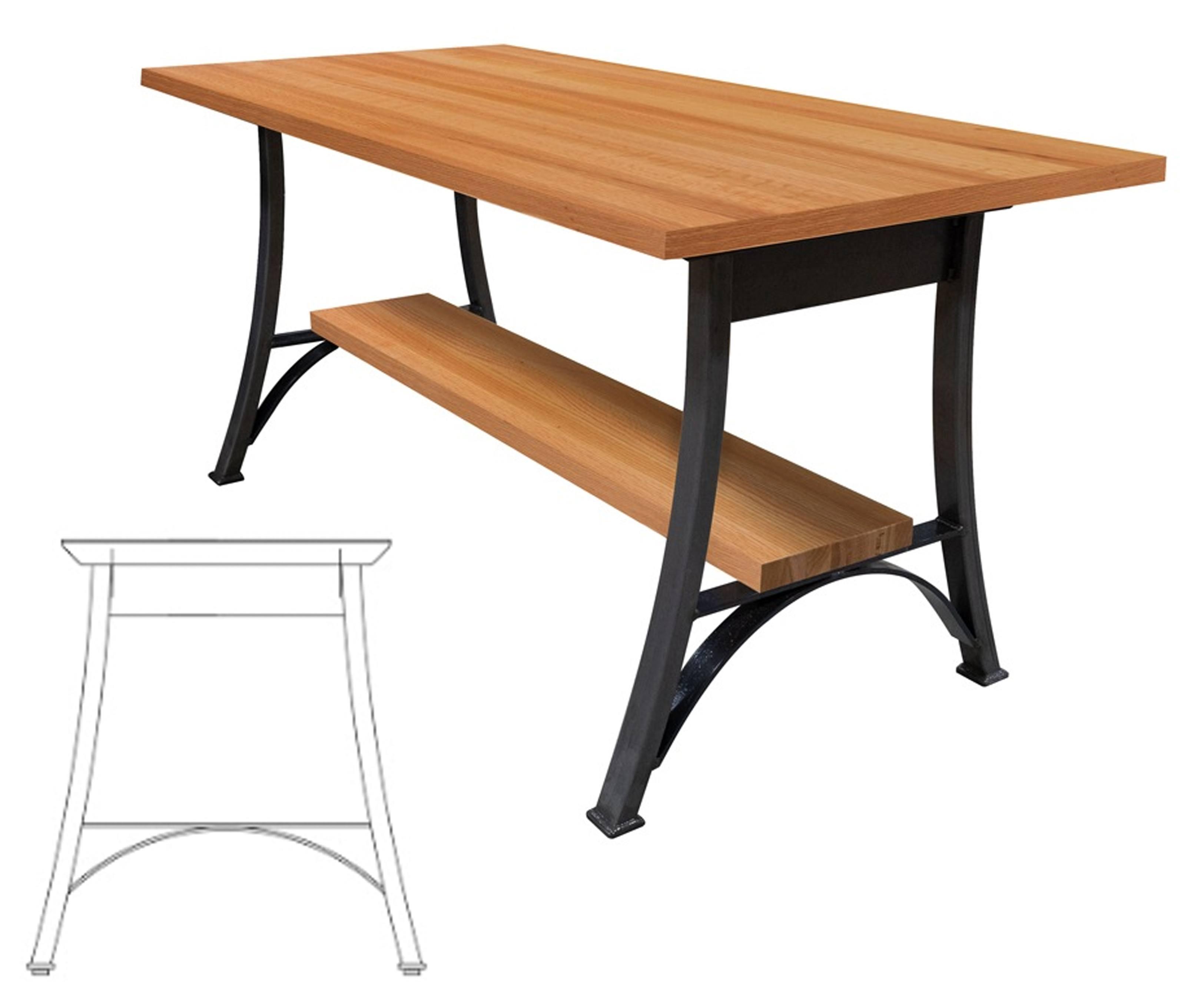 John Boos Oak Dining Table