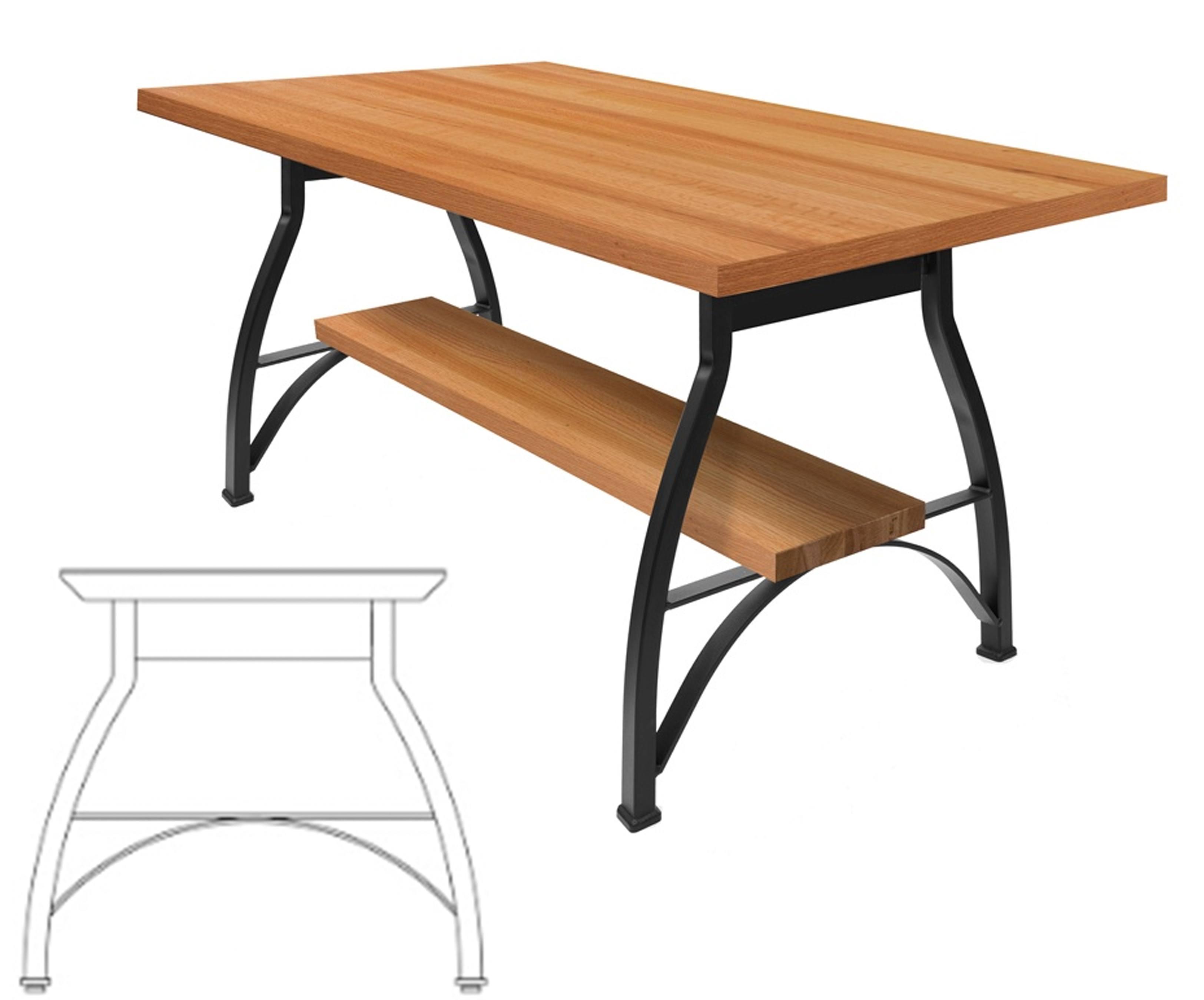 John Boos Foundry Oak Dining Dining Tables