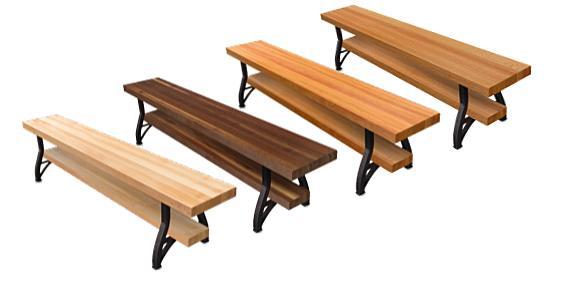 John Boos Dining Benches