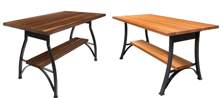 John Boos Foundry Collection dining table sets