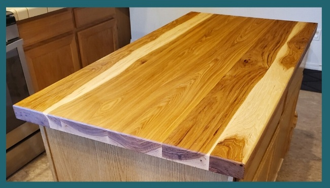 Walnut Plank butcher block top