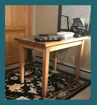 Boos Maple Country Work Table