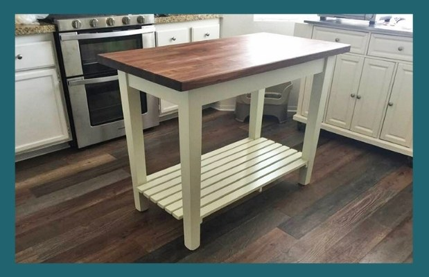 boos walnut country work table