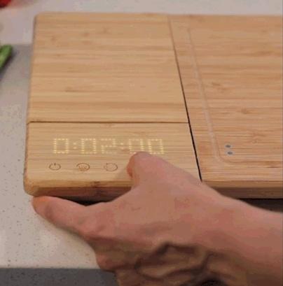 ChopBox Cutting Board with Timer