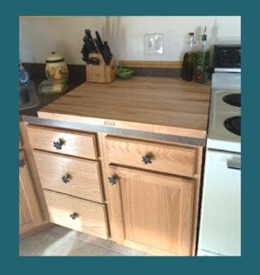 giant maple cutting board