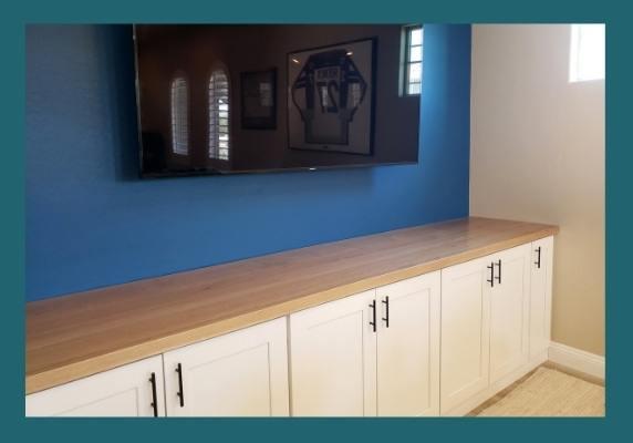 White Oak Plank Countertop
