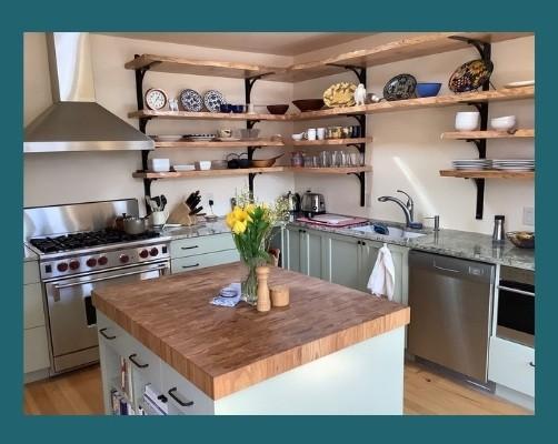 Maple Plank kitchen island top