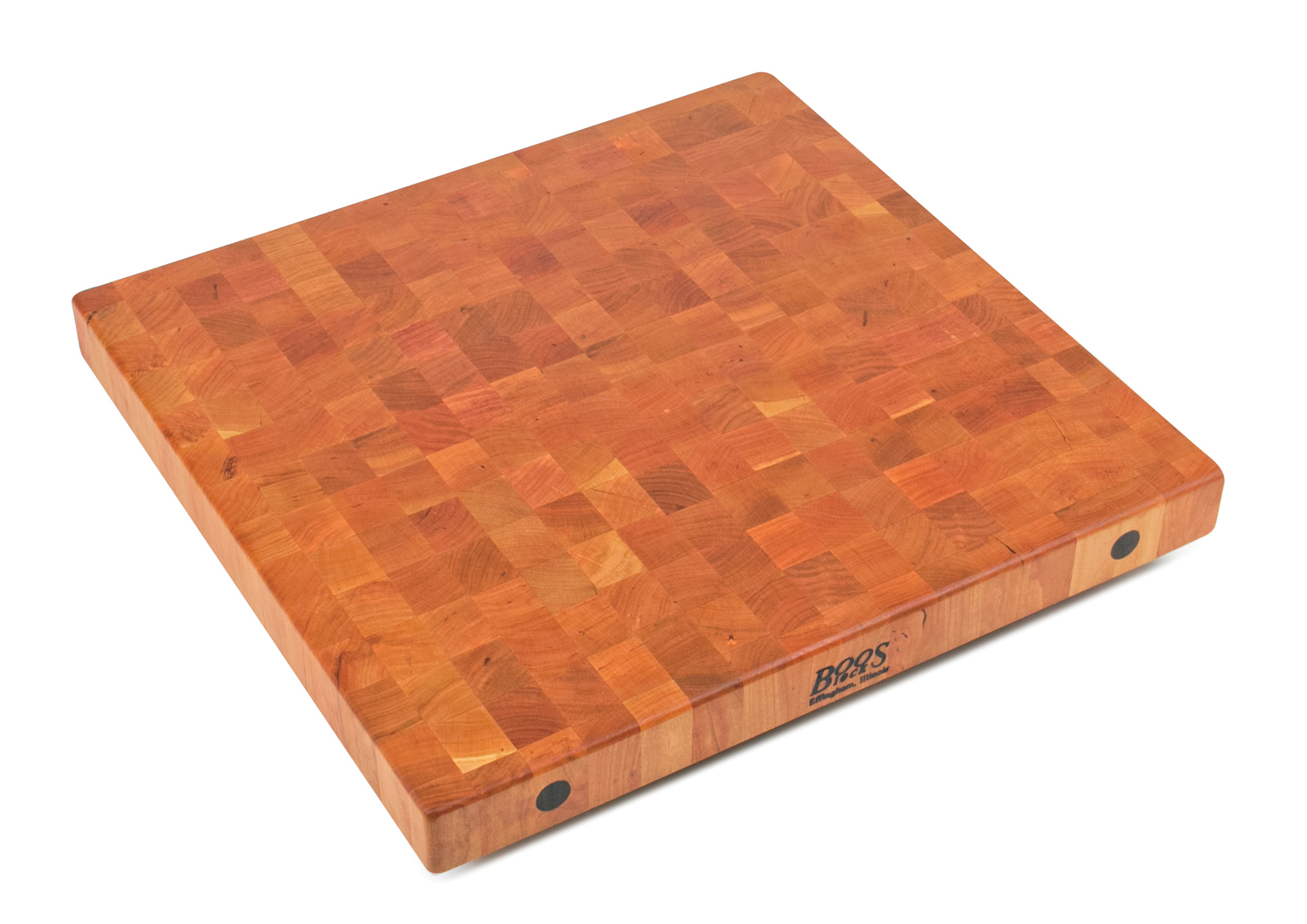 7 inch thick cherry butcher block end grain 27 inches wide
